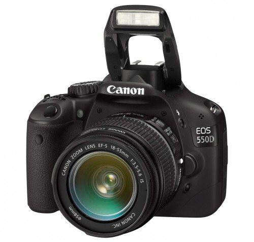 Canon EOS 550D with 18-55mm IS