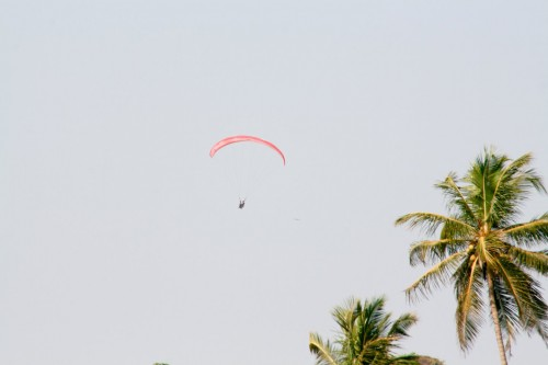 Paragliding at Anjuna