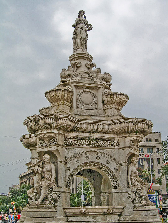 Flora fountain mumbai footwa