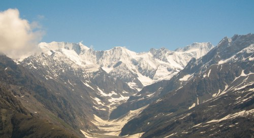 View from Rohtang Pass
