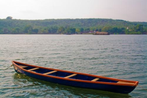 Fishing boat at majorda