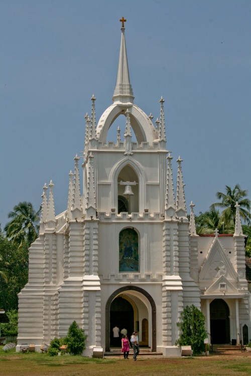 Mae de Deus church Saligao