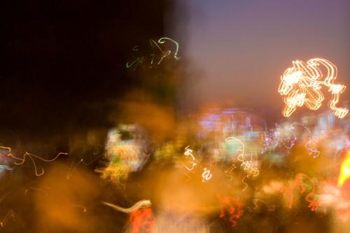 Ahemdabad traffic at night