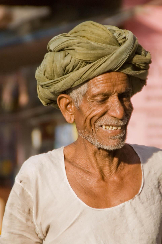 Old Man Face SmilingOld Man Face Smiling
