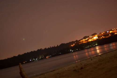 beach - photography with long exposure, bambolim beach, Beach, Goa, Goan beach, long exposure, low light, Nature, night photography, wallpaper, Photographer Anurag Jain