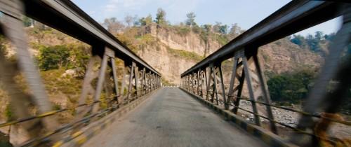 Bridge crossing at Kangra