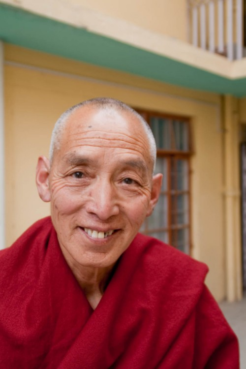 Monk at Dharamshala Mcleod Ganj