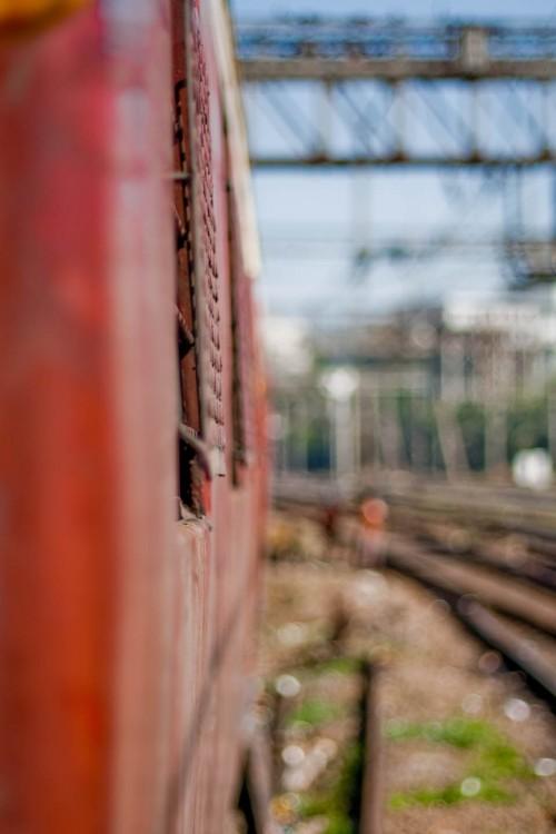 Mumbai train journey