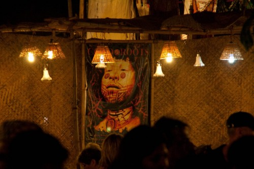 The Roots of Sepultura album cover at Saturday night market at Ingos - Goa