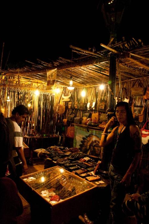 Saturday night market at ingos goa
