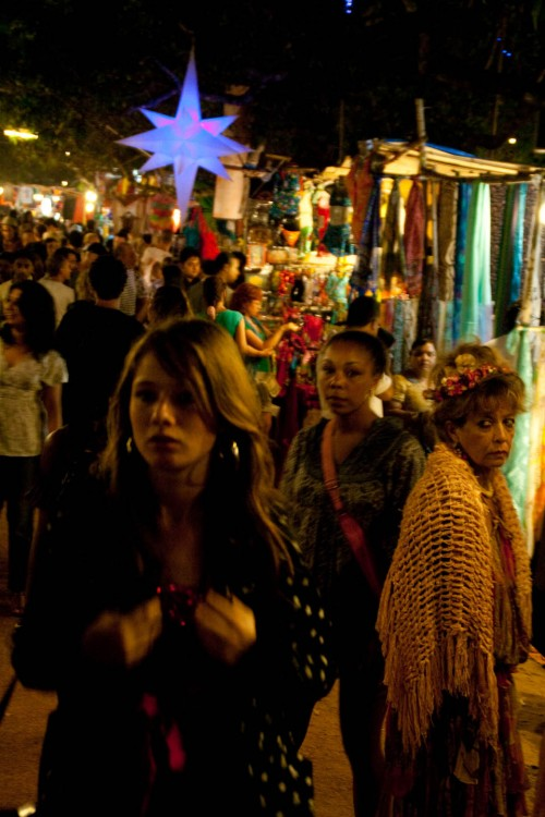 Faces at ingos saturday night market at Arpora - Goa