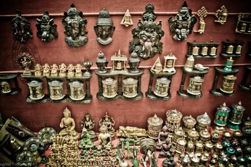 Stall at a Tibetan market - Dharamshala