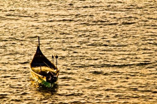 Boat at Anjuna