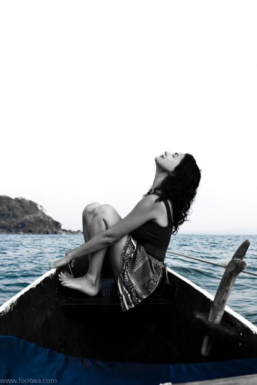 I have a dream - lady in a boat