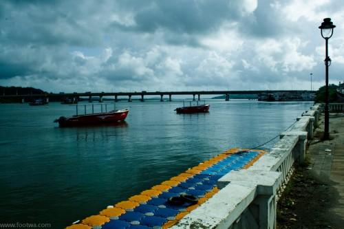 Mandovi bridge Panaji Goa