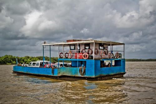 The Goan Ferry Boat