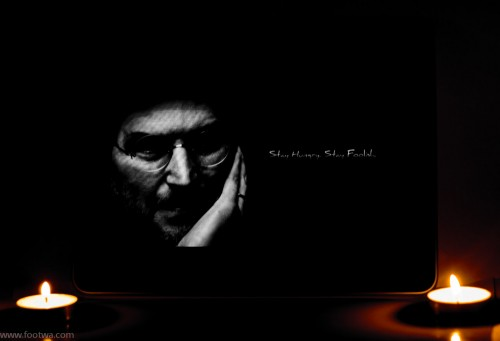 Steve Jobs, a tribute steve jobs, Abstract, Abstract photography, candle light, Dim light photography, iPad, Steve Jobs, Steve jobs snap with candles, the person Steve Jobs was, wallpaper, Who is Steve Jobs, Photographer Anurag Jain
