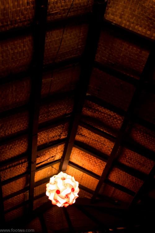 The roof at Curlies Anjuna