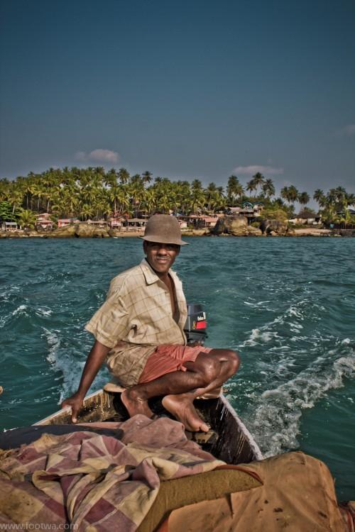 Fisherman in his Boat