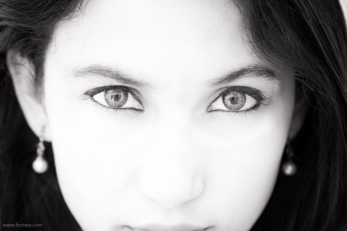Eyes - Anuja Chauhan, Anuja Chauhan, eyes, monochrome, People, Portrait, Photographer Anurag Jain