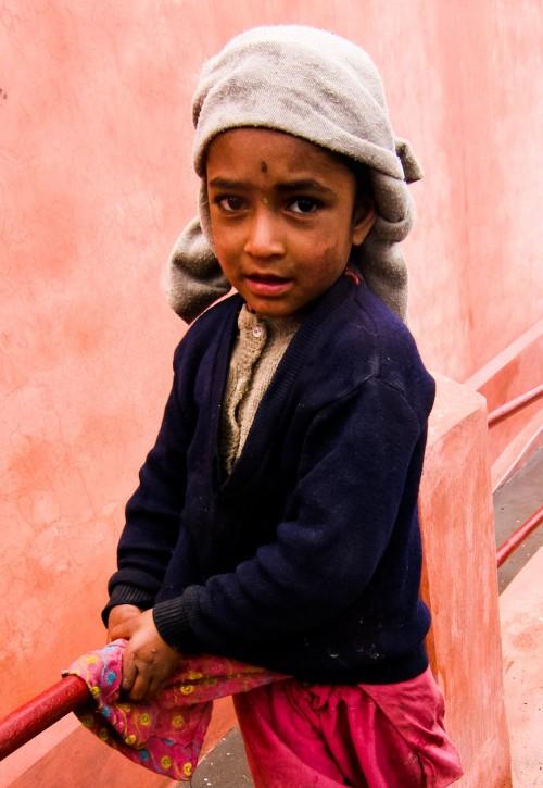 The little girl from Khajjiar