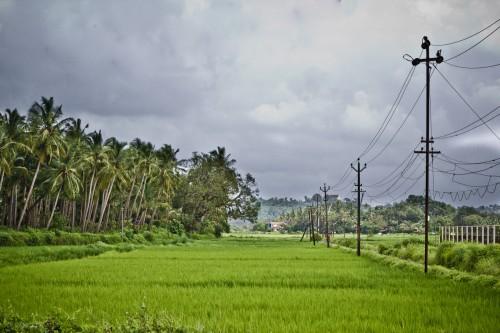 Divar Island during rains