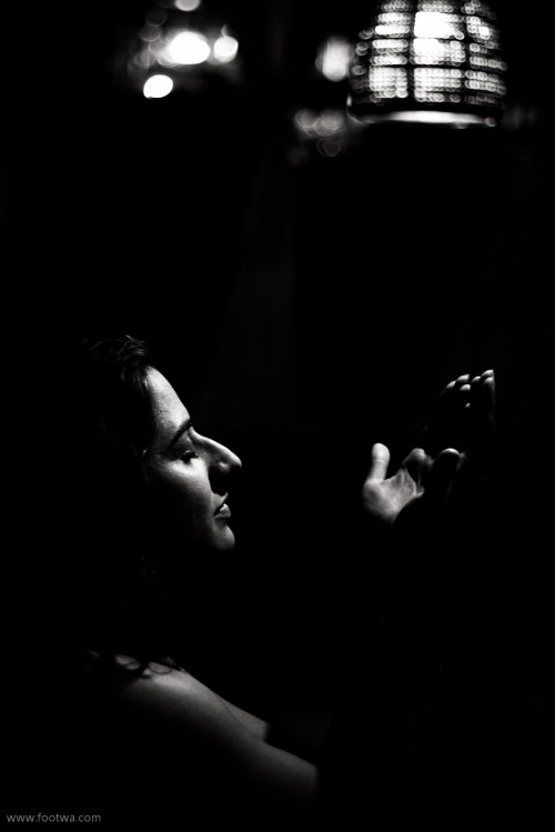 Saira praying