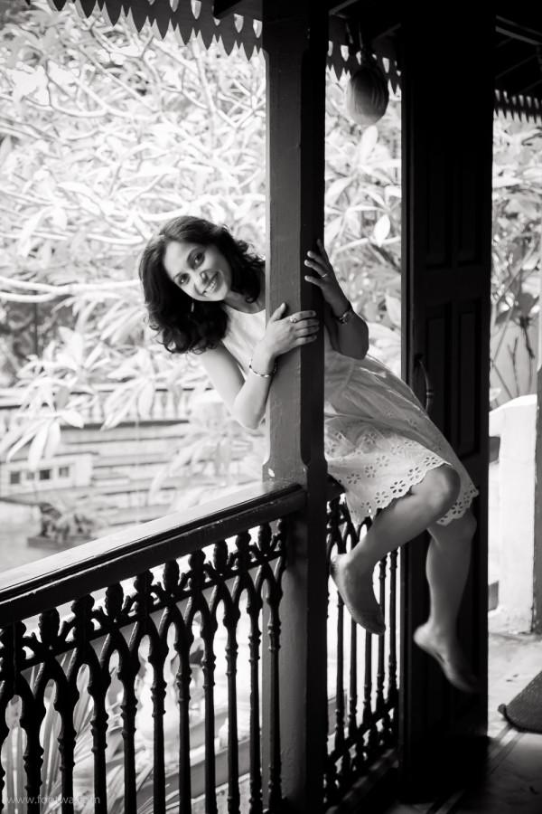 Anuja Chauhan - balcony