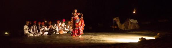 Cultural program at Rajasthan