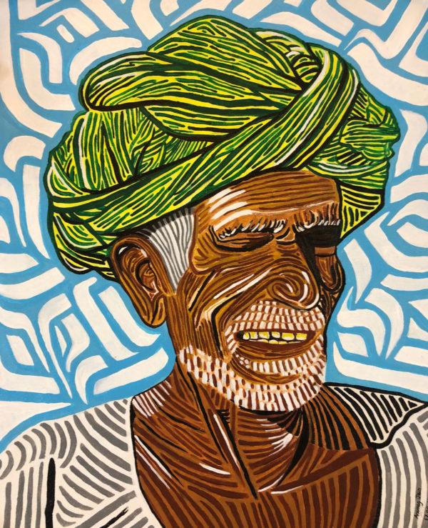 Turban man, Rajasthan